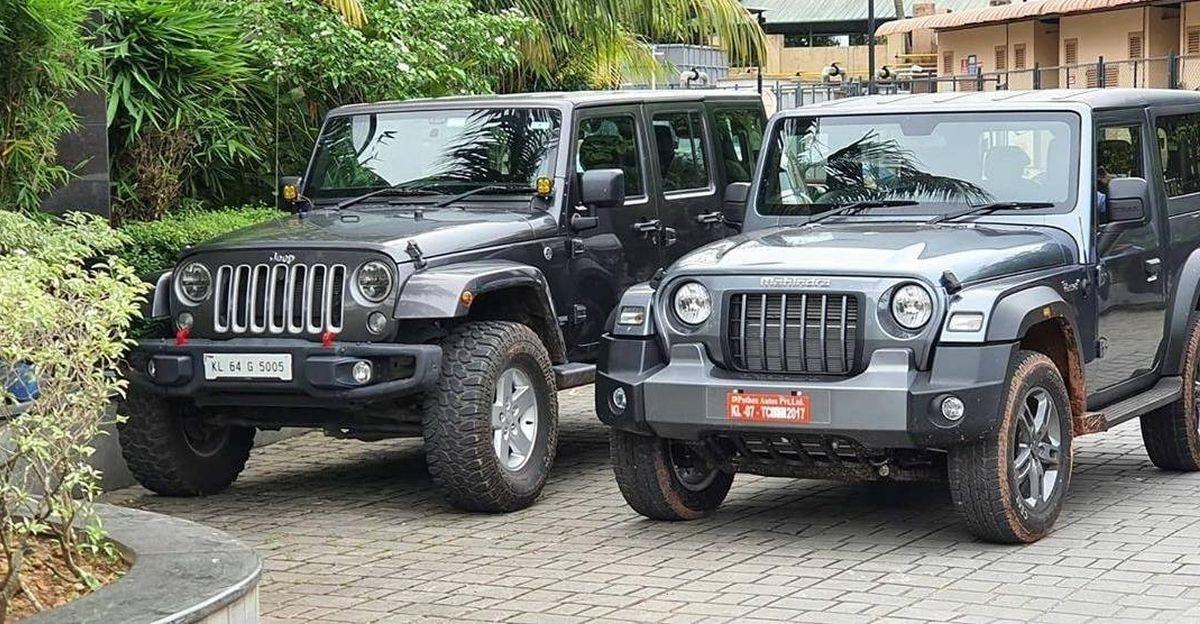 2020 तक Mahindra Thar एक Jeep Wrangler की तरह दिखता है [Video]