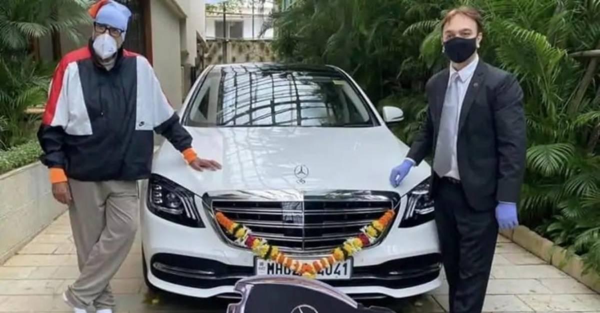 Amitabh Bachchan को एक नई Mercedes S-Class होम डिलीवरी
