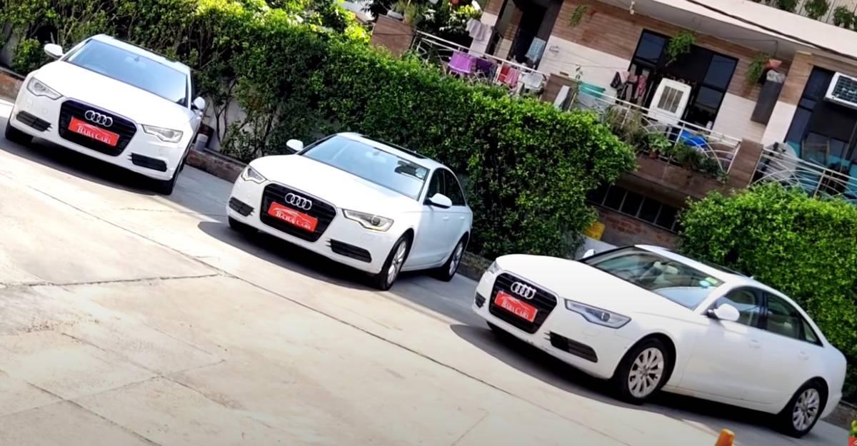 3 इस्तेमाल की हुई Audi A6 लक्जरी सेडान बिक्री के लिए कॉम्पैक्ट सेडान की कीमतों पर [Video]