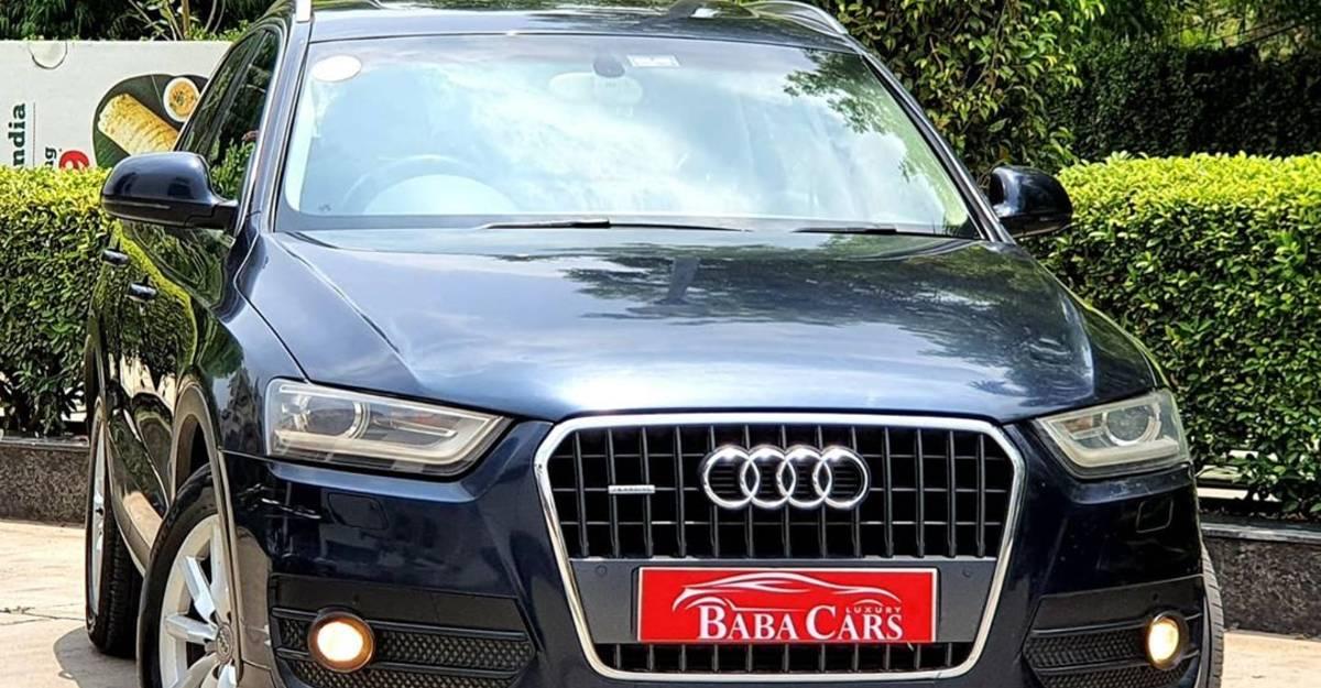 बिक्री के लिए अच्छी तरह से इस्तेमाल की गई Audi Q3: नई Hyundai Venue की तुलना में सस्ती