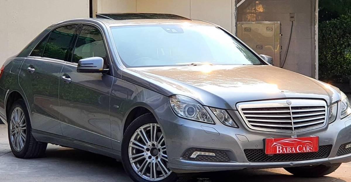Used Mercedes E-Class  500 एनएम के BRUTE torque के साथ सिर्फ Rs 5.95 लाख