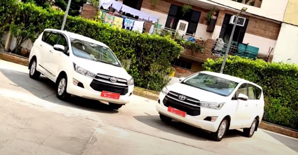 बिक्री के लिए 2-वर्षीय Toyota Innova Crysta MPVs: अच्छा मोल एक ठोस कारखाना वारंटी के साथ