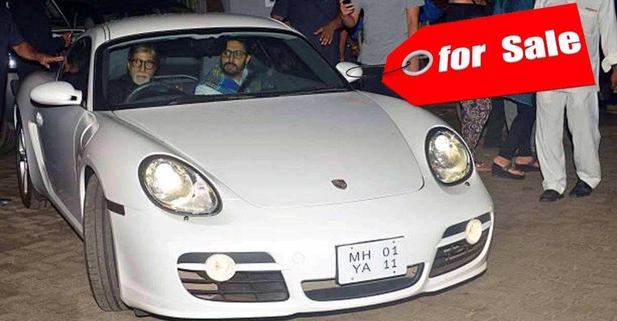 Amitabh Bachchan की  Porsche Cayman S बिक्री के लिए है: केवल 3,700 किमी और Jeep Compass से सस्ता