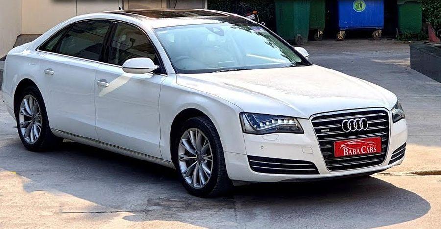 बिक्री के लिए अच्छी तरह से Audi A8L सुपर लक्जरी सेडान बनाए रखा: Honda Civic की तुलना में सस्ता [वीडियो]