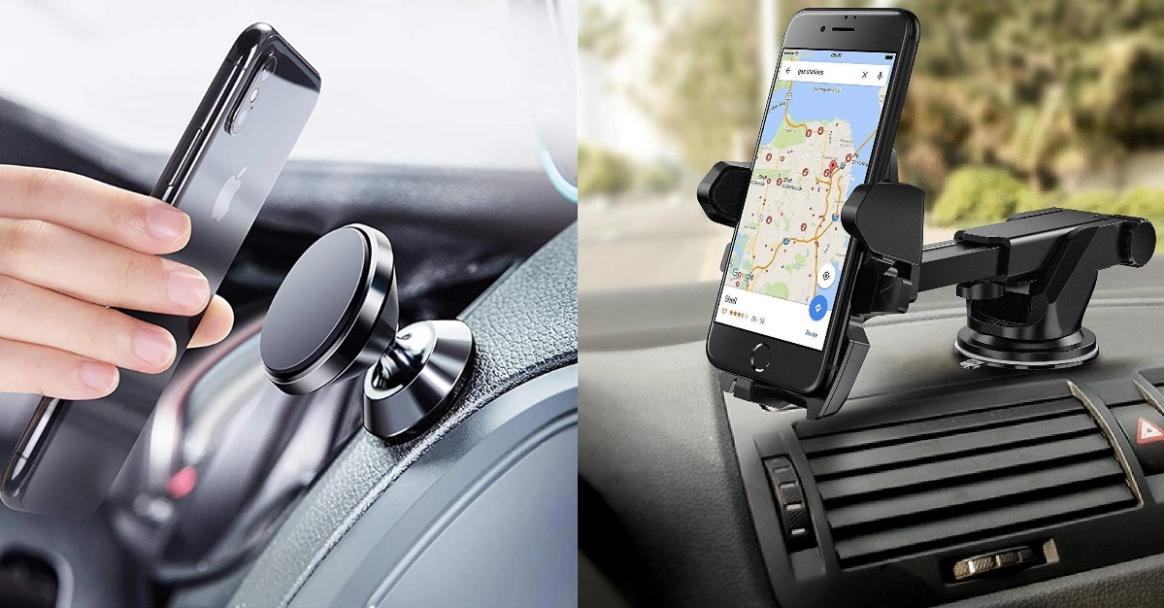 Amazon पर 5 सबसे लोकप्रिय कार स्मार्टफोन mounts/holders