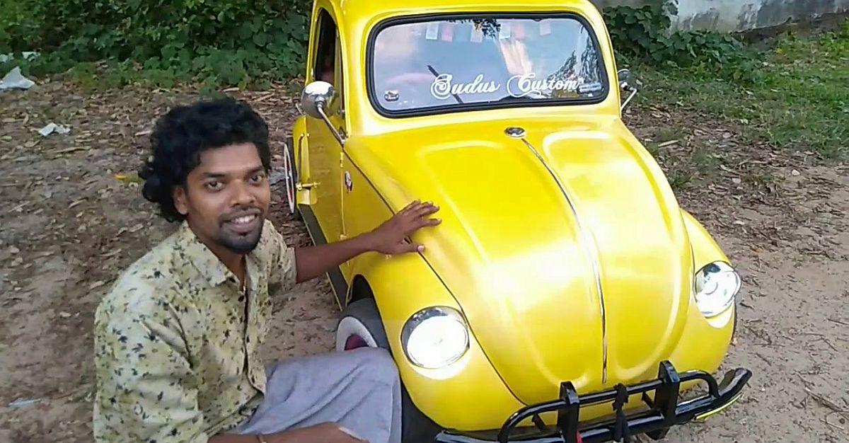 पहली बार एक्शन में भारत की एकमात्र 'होम-मेड' Volkswagen Beetle देखें [वीडियो]
