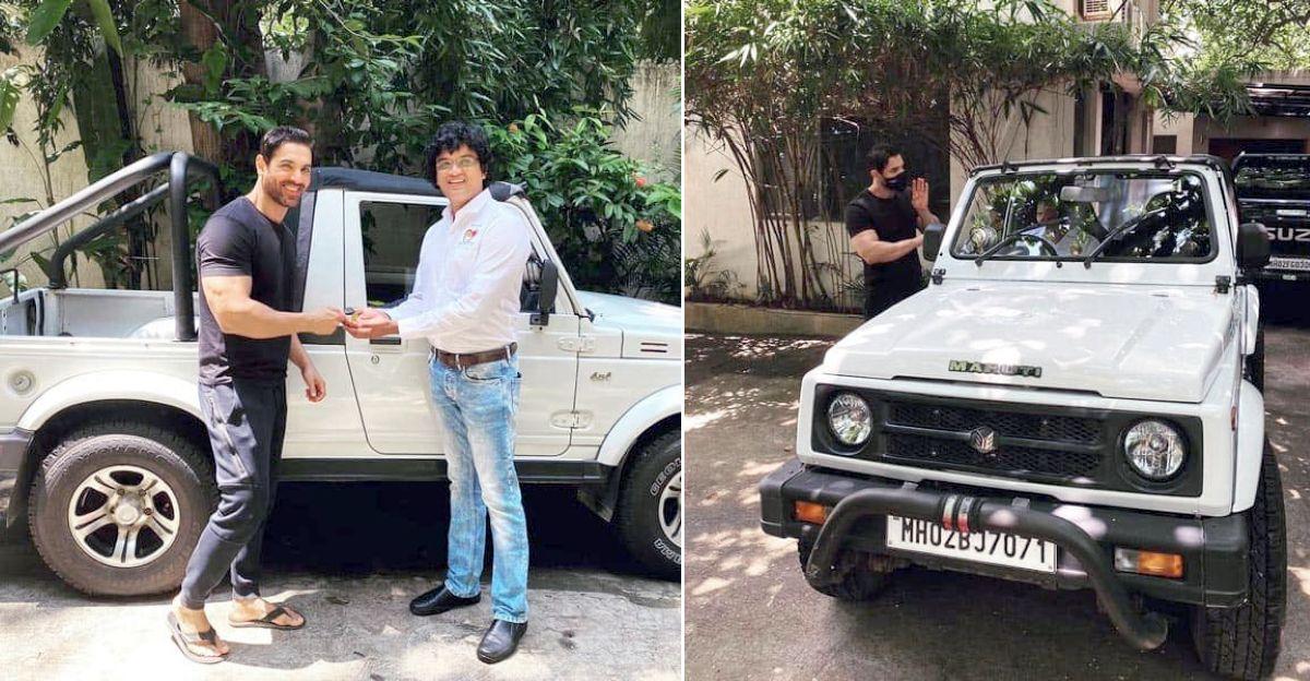 John Abraham ने अपनी Maruti Suzuki Gypsy पशु कल्याण के लिए दान दिया