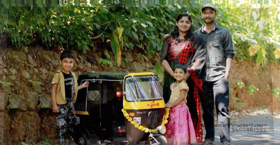 केरल के पिताजी से मिलिए जिन्होंने अपने बच्चों के लिए छोटे ऑटोरिक्शा प्रतिकृति का निर्माण किया [वीडियो]