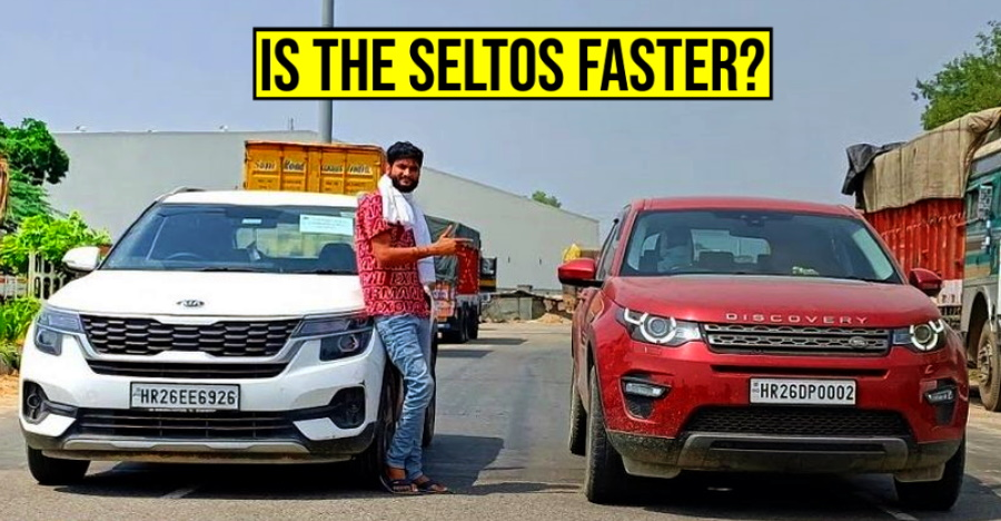 क्लासिक ड्रैग रेस में Kia Seltos vs Land Rover Discovery Sport: कौन सी SUV जीतेगी? [वीडियो]