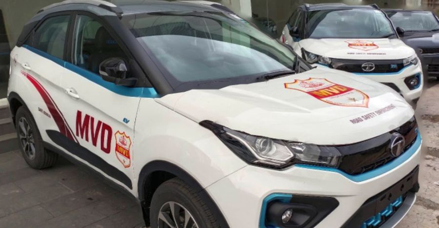 केरल MVD की नवीनतम सवारी Tata Nexon Electric SUV है