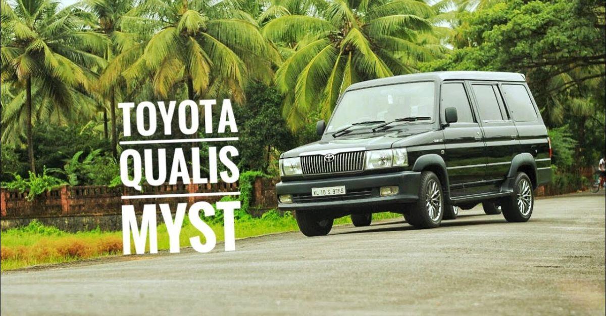 यह 15 वर्षीय रेस्टो-मॉड्यूल्ड Toyota Qualis MPV सुंदर लग रही है [Video]