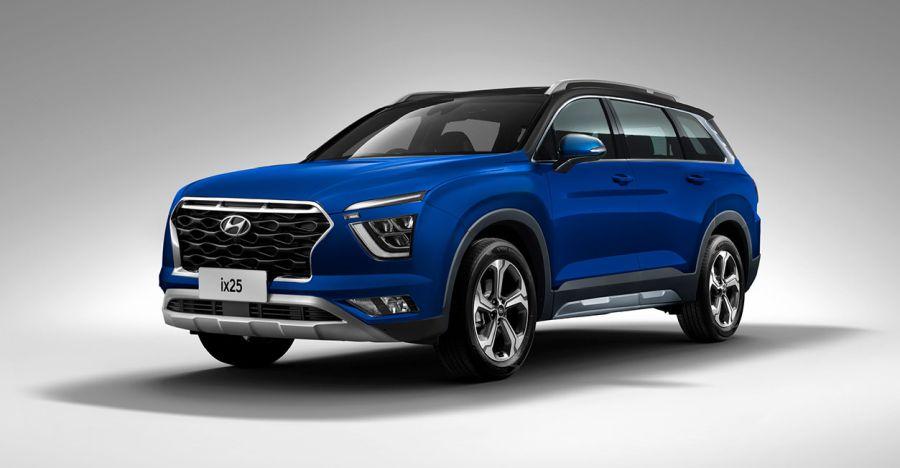 अगले साल लॉन्च होने वाली 7 सीट Hyundai क्रेटा: नई विवरण