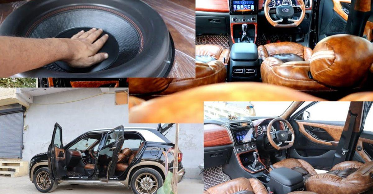 बिलकुल-नई Hyundai Creta अंदर बाहर संशोधित: एक व्यापक एम्पलीफायर हो जाता है [वीडियो]
