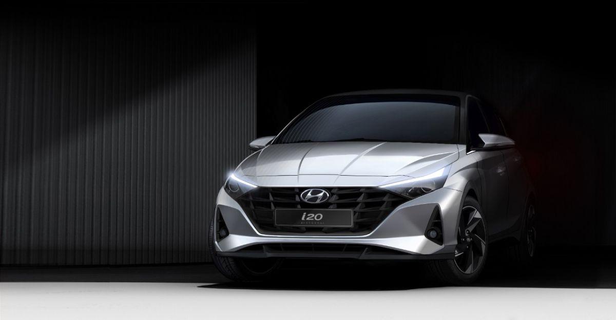 बिलकुल-नई Hyundai i20: भारत-स्पेक मॉडल का पहला आधिकारिक रेखाचित्र जारी