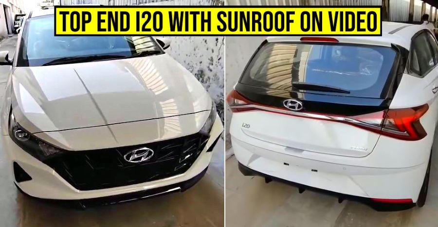 2020 ऑल-न्यू Hyundai i20: Top-end Asta प्रकार डीलरशिप पर पूर्ण walkaround में [वीडियो]