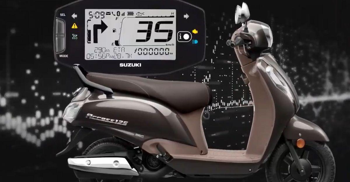 2020 Suzuki Access 125 स्वचालित स्कूटर लॉन्च: Honda Activa प्रतिद्वंद्वी Bluetooth हो जाता है