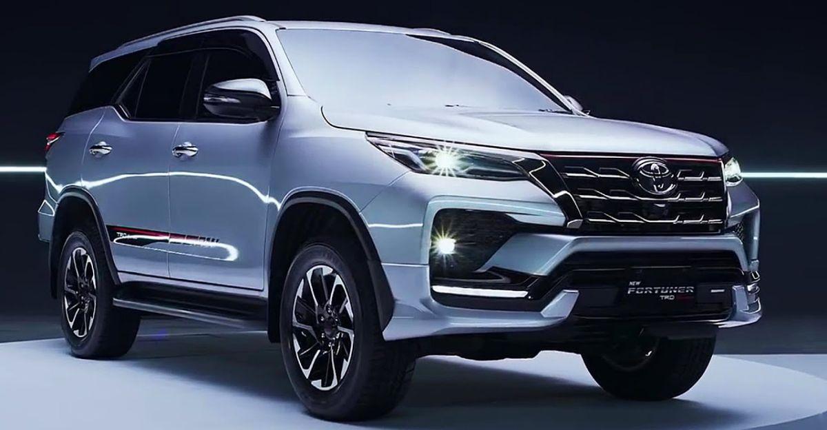 2021 Toyota Fortuner फेसलिफ्टेड लक्जरी SUV पर विस्तृत वीडियो