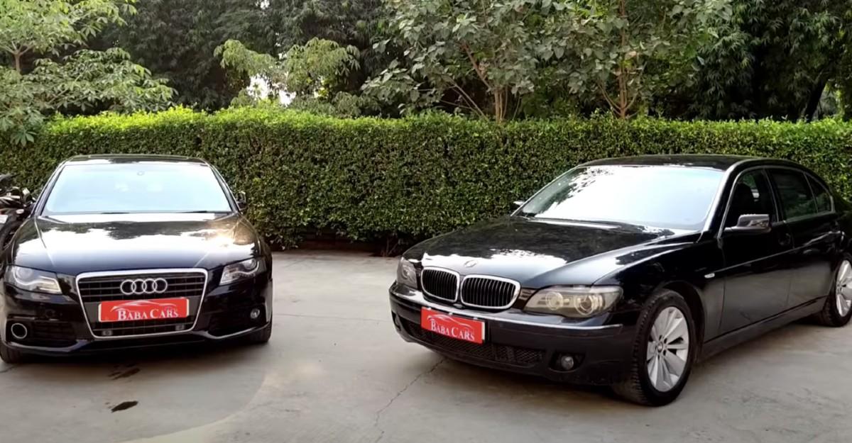 बिक्री के लिए प्रयुक्त Audi A4 और BMW 7-Series: कीमत 8 लाख रुपये से कम