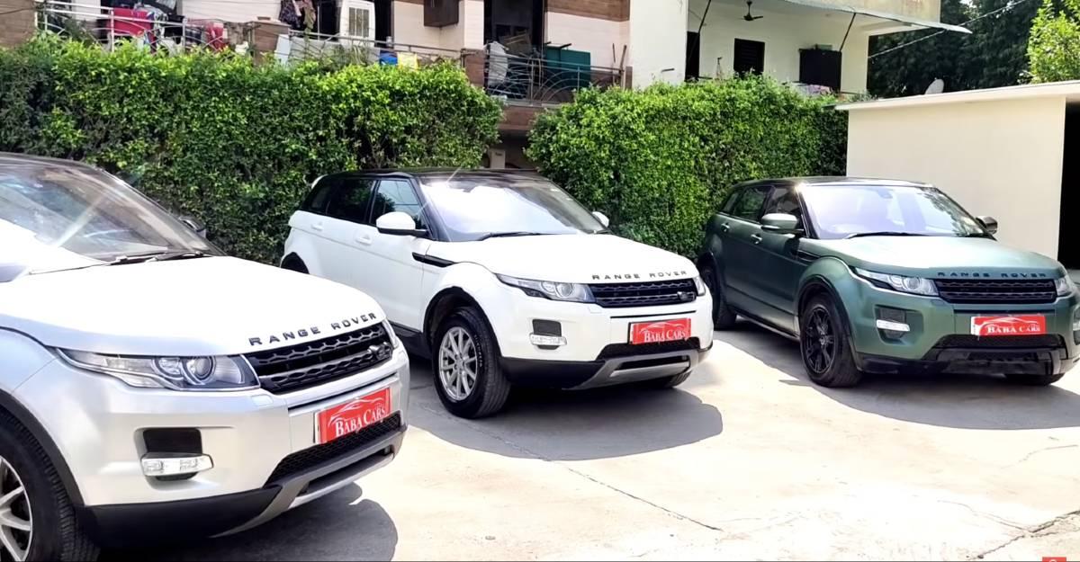 3 अच्छी तरह से बनाए रखा Land Rover Range Rover Evoque 2020 Hyundai Creta की कीमतों पर बिक्री के लिए