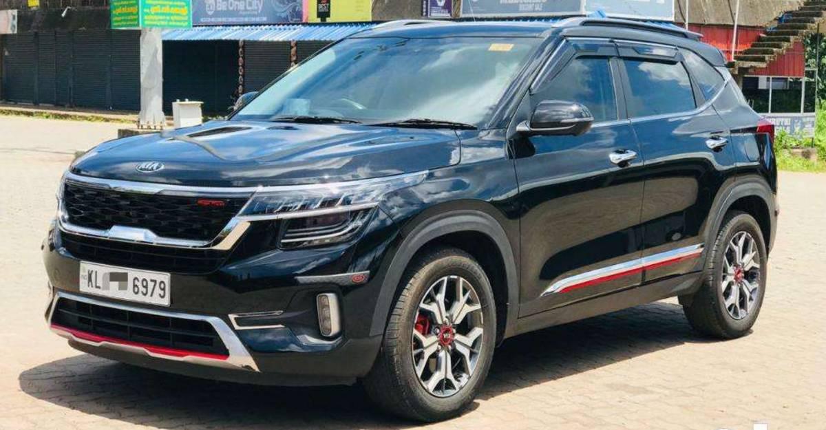 बिक्री के लिए बमुश्किल उपयोग की गयी 2020 Kia Seltos Diesel कॉम्पैक्ट एसयूवी