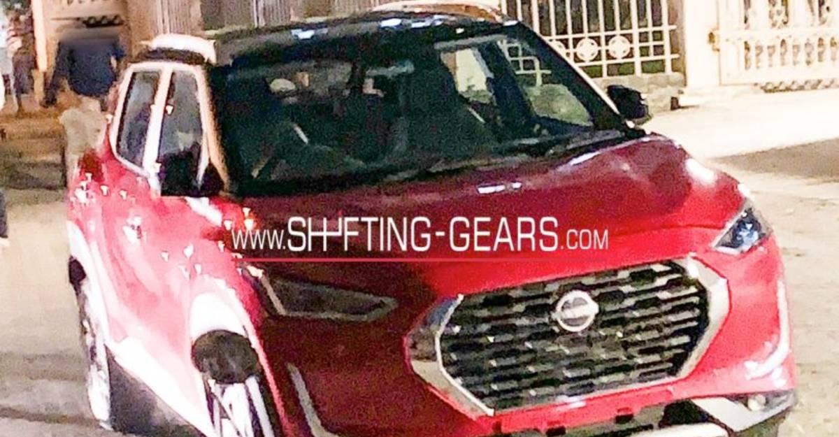 Nissan Magnite कॉम्पैक्ट SUV आधिकारिक खुलासा के आगे बेकाबू: Mini-Kicks की तरह दिखता है