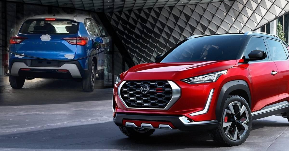 पहली Nissan Magnite कॉम्पैक्ट SUV भारत में बिना cemo के देखा गया