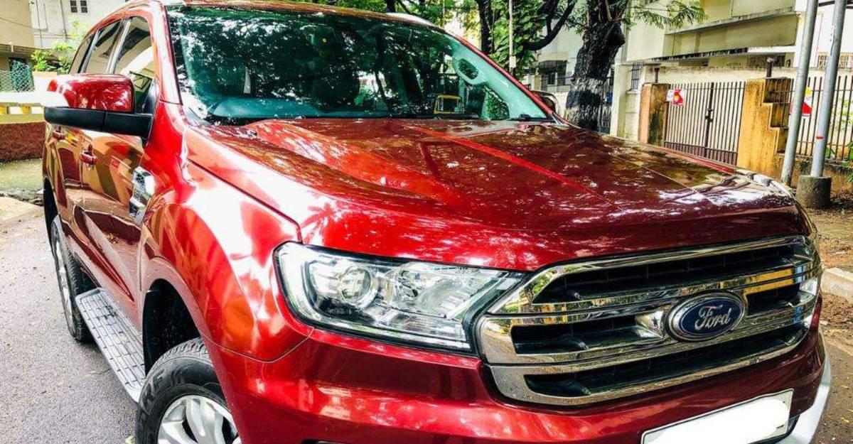 Used Ford Endeavour SUV लगभग 20 लाख रुपये में बिक्री के लिए