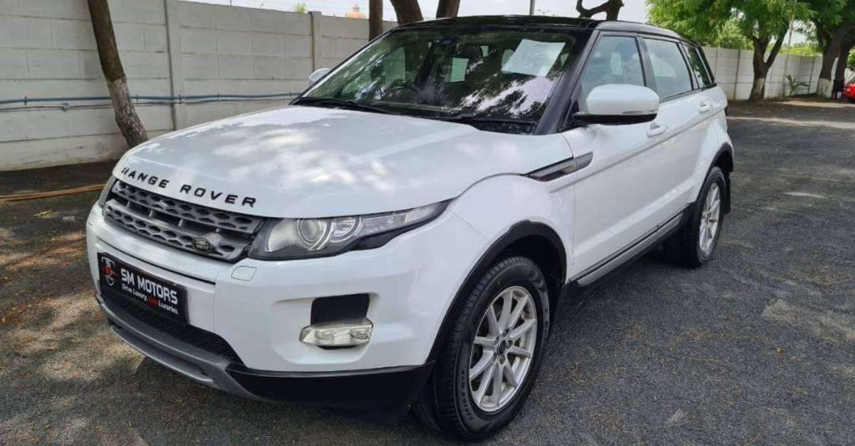 3 Range Rover Evoque SUV रु 20 लाख रुपैये में बिक रही हैं: Jeep Compass की तुलना में सस्ता
