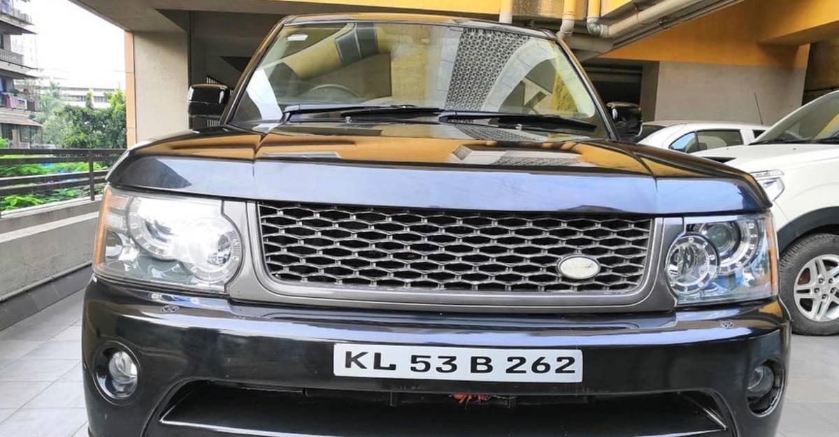 Used Land Rover Range Rover Sport V8 डीजल इंजन के साथ 18 लाख रुपये