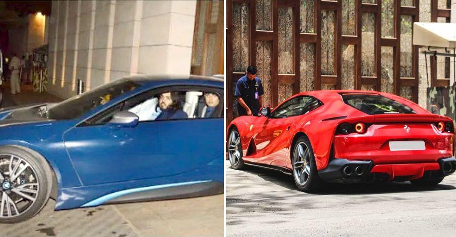 Ambani परिवार के 8 सुपरकार कैमरे में कैद: Ferrari से Lamborghini