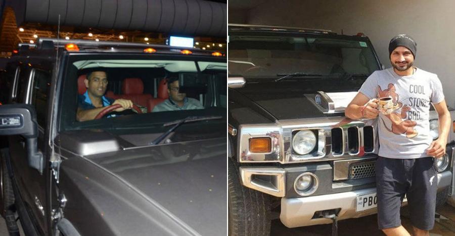 भारत के Hummers और उनके प्रसिद्ध मालिक: MS Dhoni से Harbhajan Singh