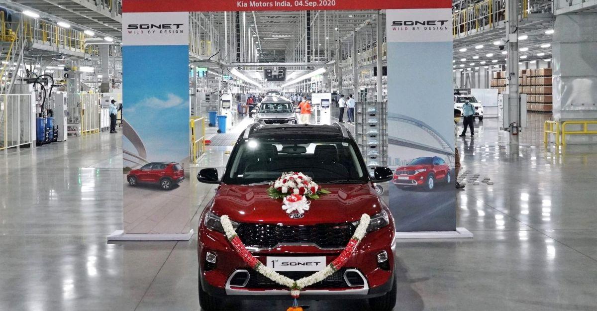 Sonet Compact SUV की प्रतीक्षा अवधि ने 2 महीने छुए: Kia Motors ने 3 shift की योजना बनाई