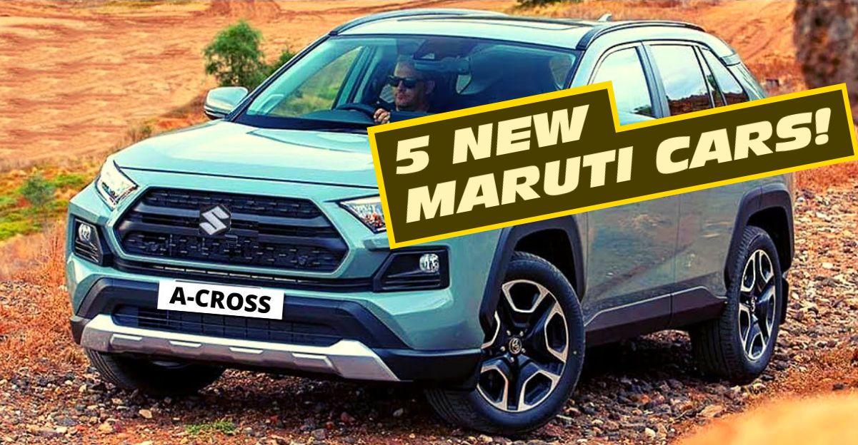 Maruti Suzuki अगले 3 वर्षों में 4 नई SUV और एक नया MPV लॉन्च करने के लिए: विवरण