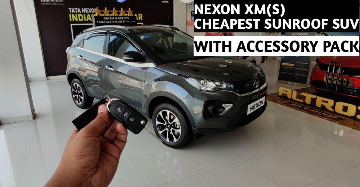 Tata Nexon XMS: भारत की सबसे सस्ती सनरूफ से लैस कॉम्पैक्ट SUV है