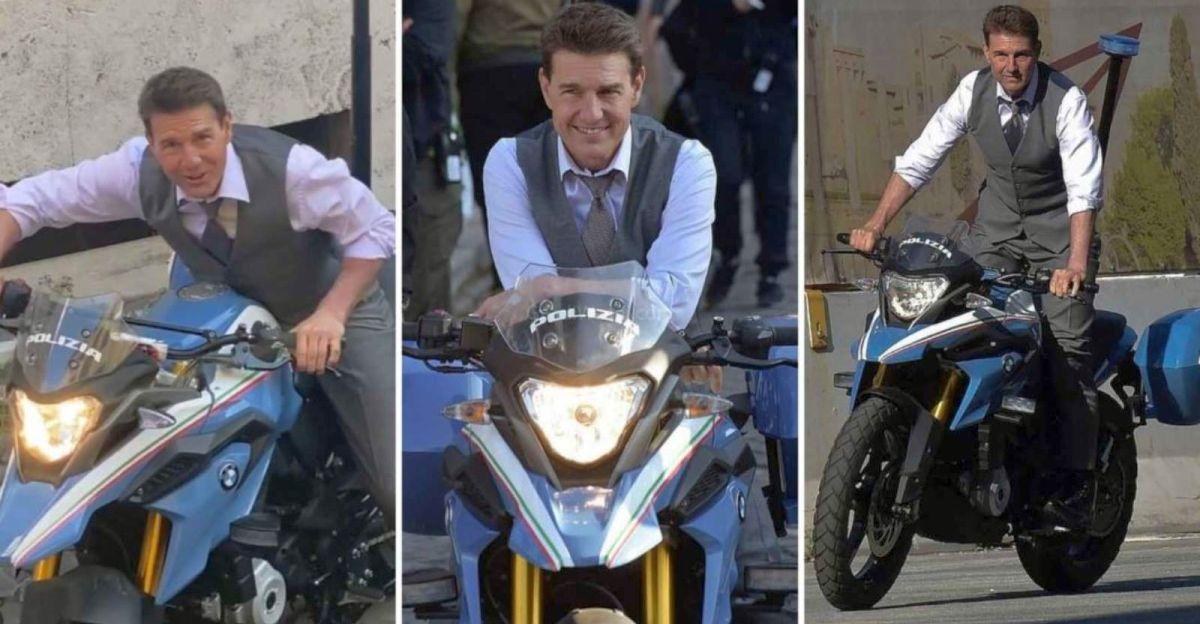 टॉम क्रूज ने Mission Impossible 7 के लिए BMW G 310 GS की सवारी की [वीडियो]
