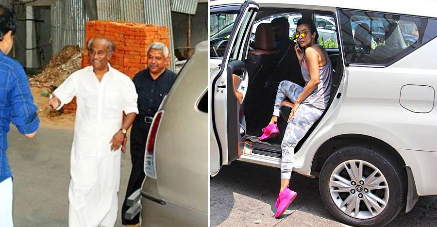 सुपर-अमीर और प्रसिद्ध लोग जैसे Rajnikanth & Aamir Khan, Toyota Innova का उपयोग करते हैं: 5 कारण!