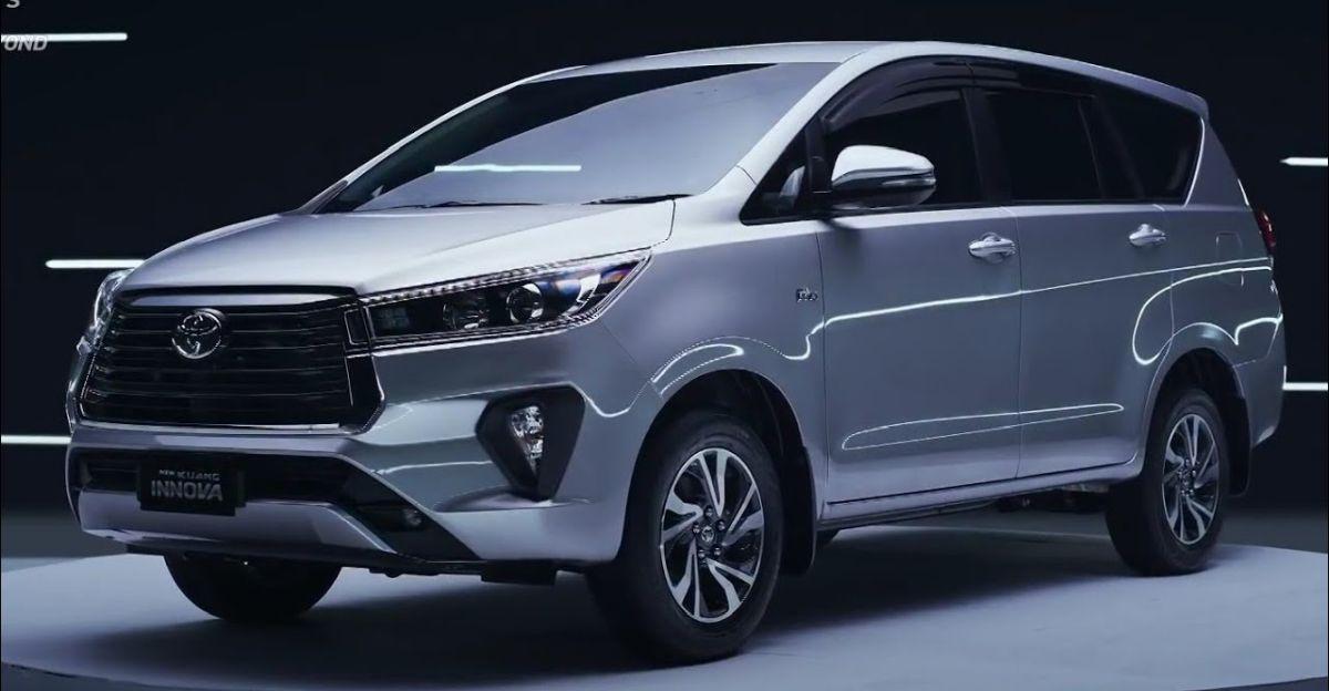 Toyota Innova Crysta Facelift इस महीने लॉन्च: क्या उम्मीद करें