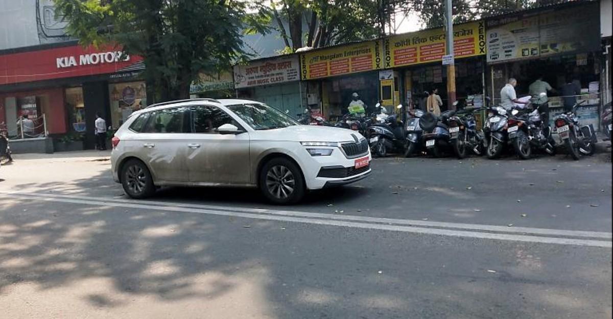 Skoda Kamiq Compact SUV ने भारत में आधिकारिक लॉन्च से पहले Spied परीक्षण किया