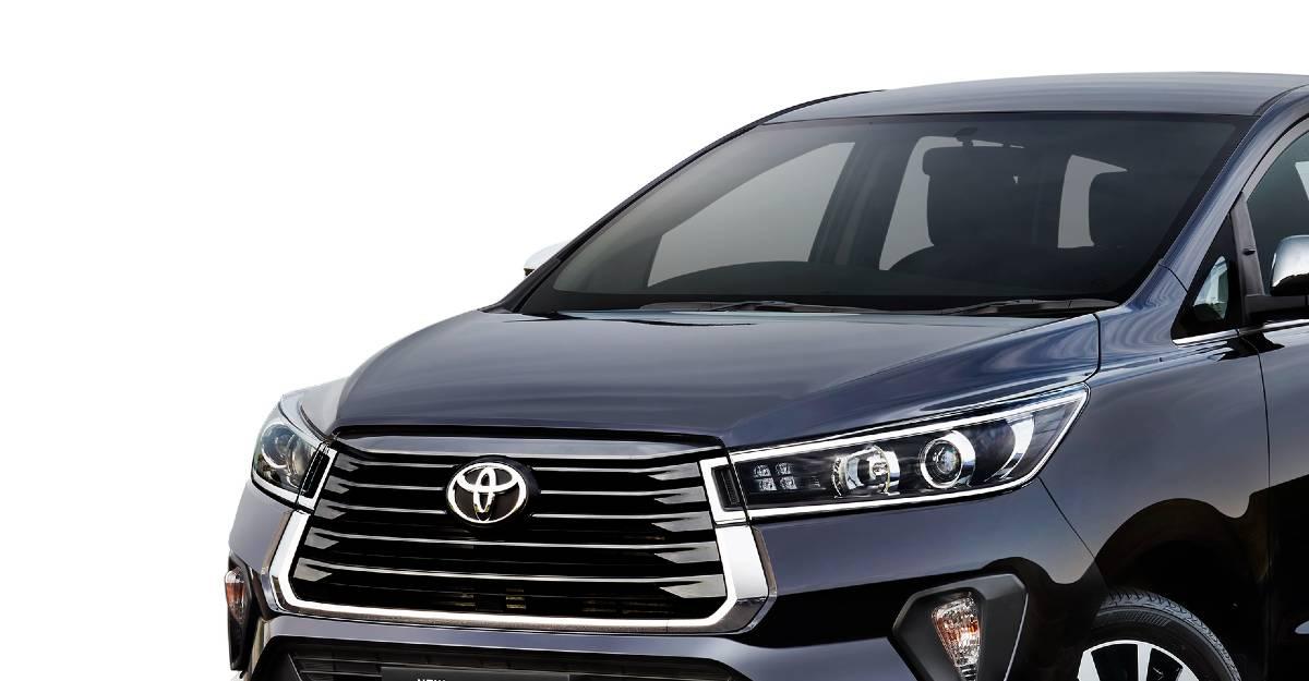 2020 Toyota Innova Crysta फेसलिफ्ट भारत में लॉन्च