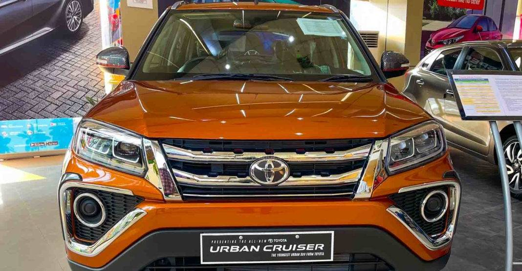 Toyota Urban Cruiser कॉम्पैक्ट SUV 50,000 रु के लायक आधिकारिक उपकरणों के साथ