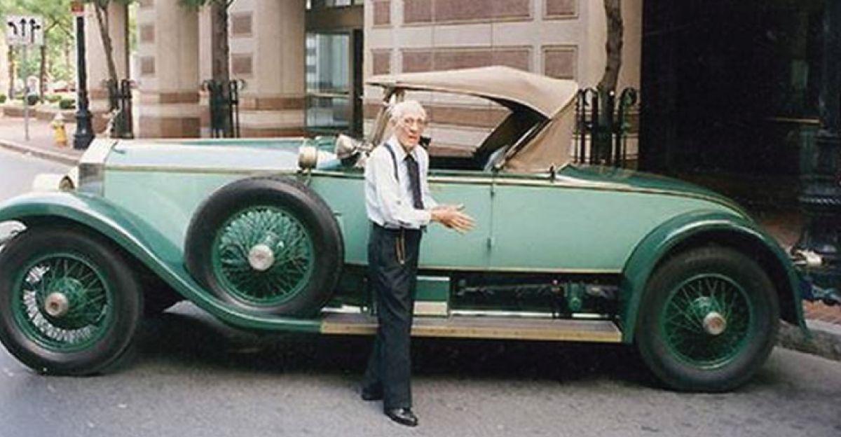 वह 77 साल से Rolls Royce के मालिक थे, 2.75 लाख किलोमीटर एक भी ब्रेकडाउन के बिना!