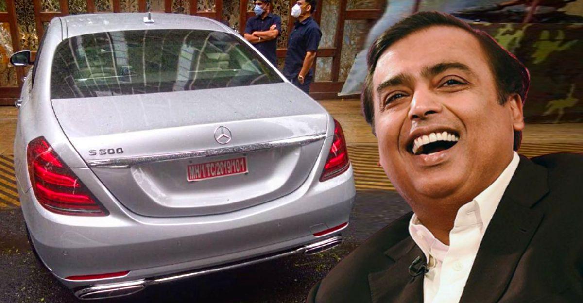 Mukesh Ambani के नए Mercedes S600 Guard की कीमत 10 करोड़ रु: बुलेटप्रूफ!