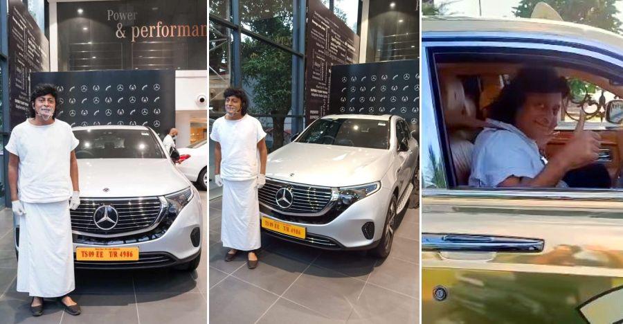 Rolls Royce Taxi के मालिक ने भारत की पहली Mercedes Benz Electric SUV खरीदी