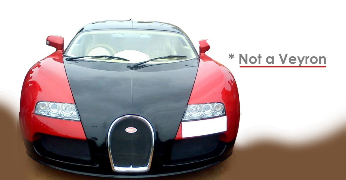 नियमित कारें Bugatti Veyron प्रतिकृतियों में तब्दील: Tata Nano से Honda City!