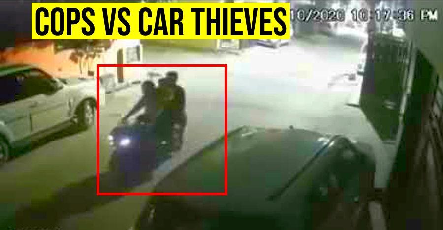 देखें भारतीय पुलिस ने वाहन चोरों  के गिरोह को कैसे पकड़ा [वीडियो]
