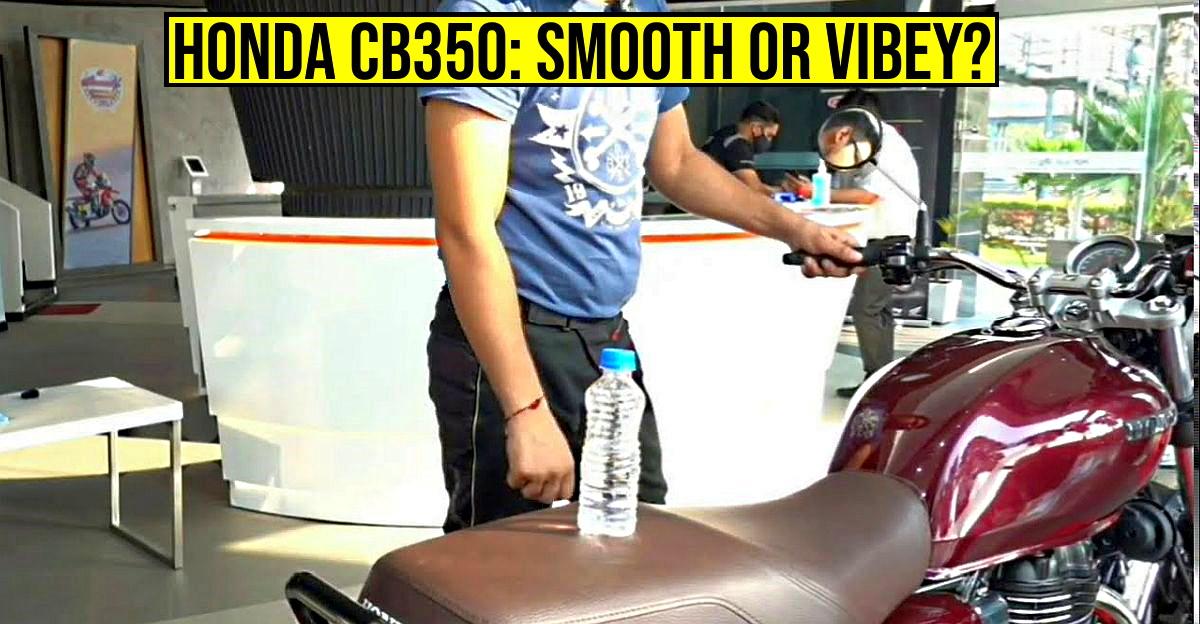 Honda CB350 H'Ness कंपन परीक्षण: क्या यह Royal Enfield Classic 350 से अधिक कंपन करता है? [वीडियो]