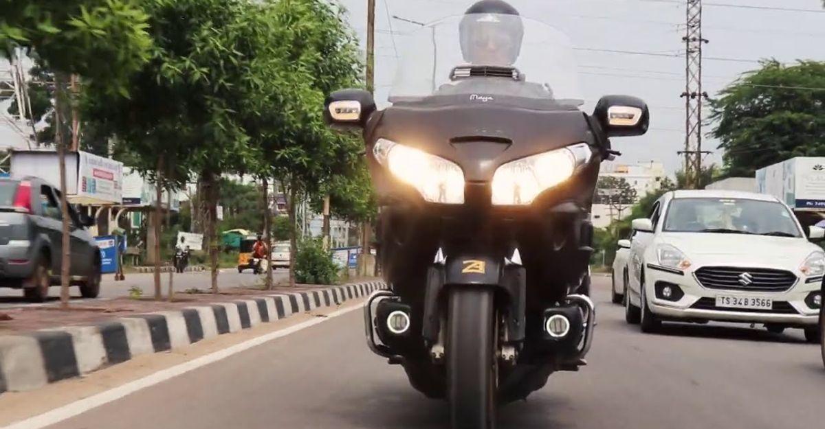 भारत के सबसे आकर्षक संशोधित Honda Goldwing क्रूजर [वीडियो]