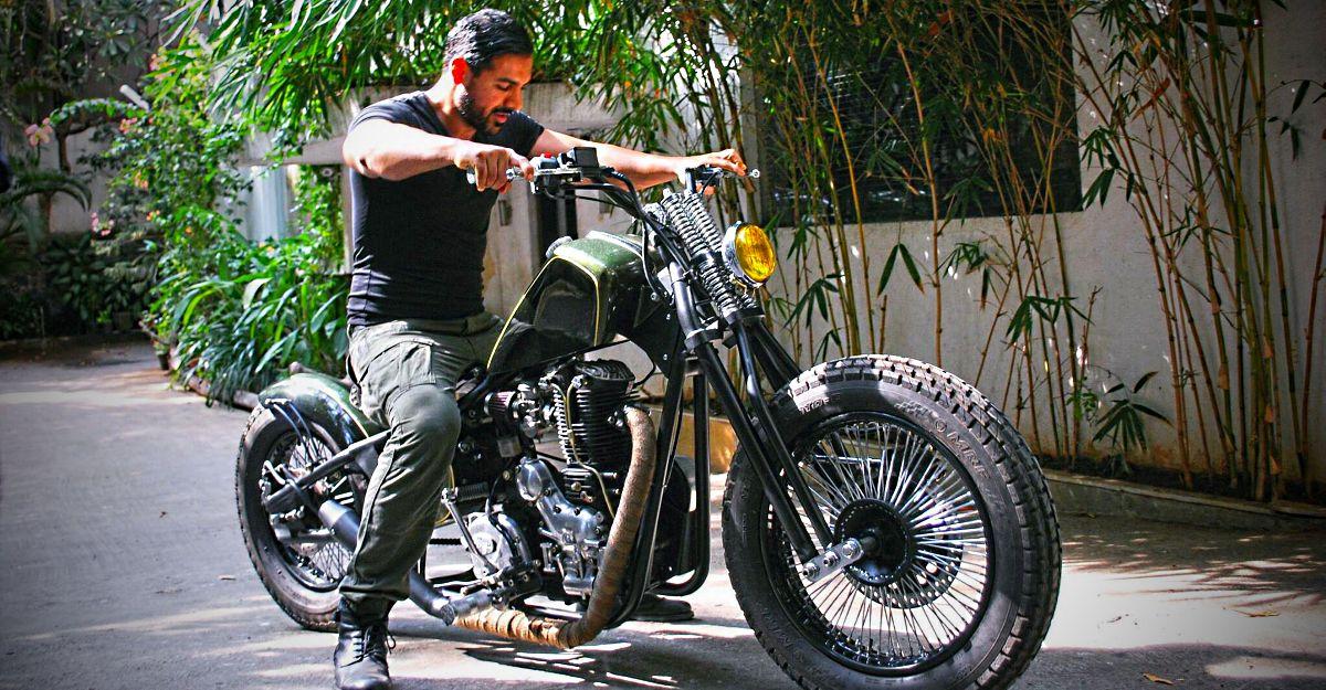 बॉलीवुड स्टार John Abraham का अतीत और वर्तमान bikes का संग्रह: Yamaha RD350 से Ducati Diavel