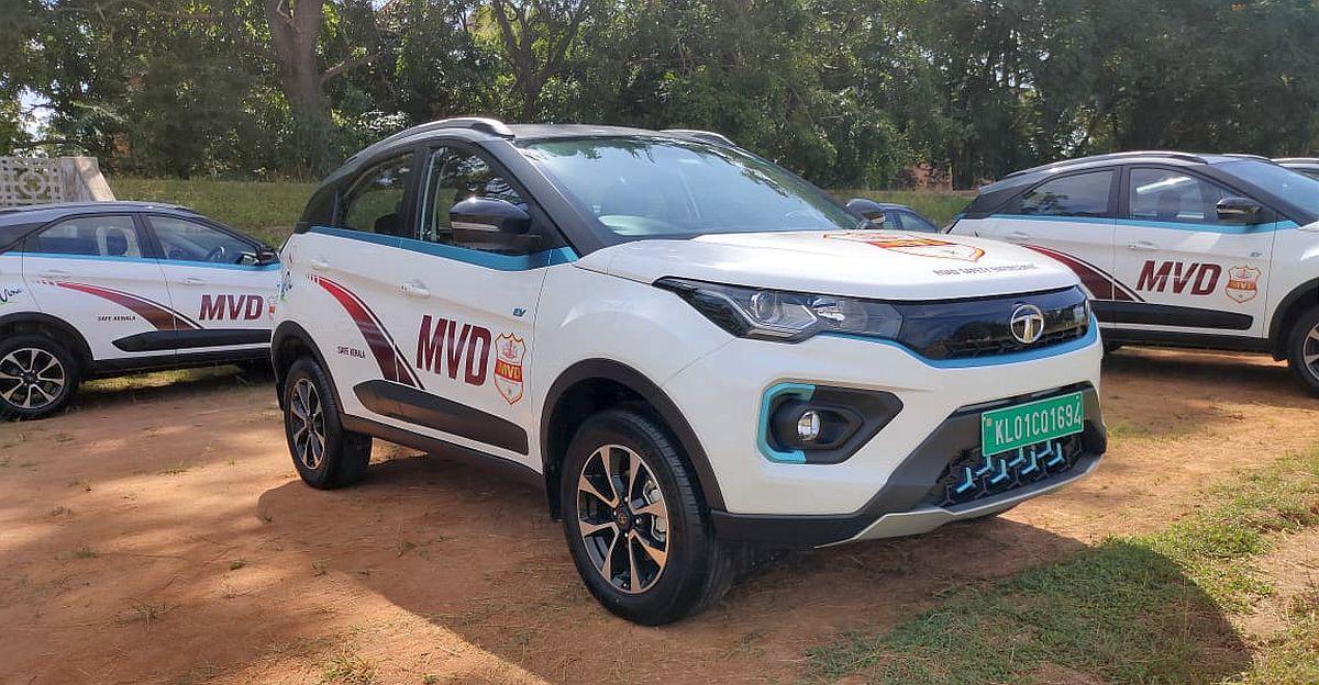 केरल MVD को 65 Tata Nexon Electric SUVs मिलीं: भारत का सबसे तेज़ Law Enforcement वाहन