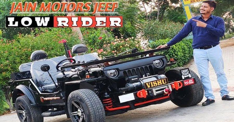 Resto-modded lowrider Jeep बिक्री के लिए Maruti Swift कीमत पर
